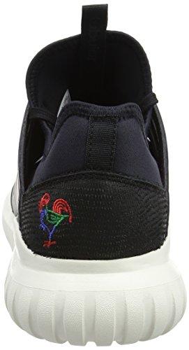 adidas Tubular Radial CNY, Scarpe Running Uomo Nero (Core Black/core Black/chalk White)