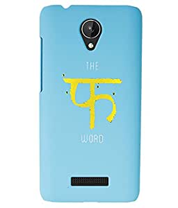 KolorEdge Back Cover For Micromax Canvas Spark Q380 - Sky Blue (1525-Ke15145MmxQ380SBlue3D)