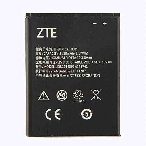 MOVILSTORE BATERIA Interna 2150 mAh Compatible ZTE