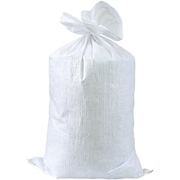 5 PP Gewebesäcke Getreidesäcke Laubsack Schwerlastsack Sack Beige *NEU*