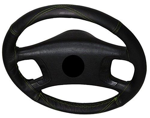 AERZETIX-Funda para volante de coser con véritable. color: redonda bordado en X vertes. Talla: M