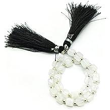 Prime vendita su Amazon Powered by gioiello perline per 1filo naturale pietra di luna arcobaleno 5mm cubo perline sfaccettate lungo 19,1cm.