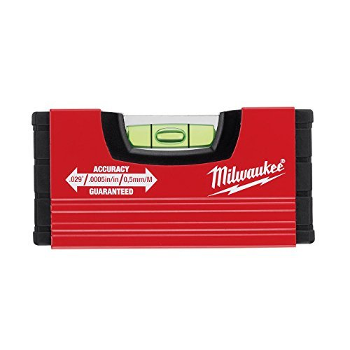MILWAUKEE Wasserwaage Mini 10 cm (Minibox Level) 4932459100