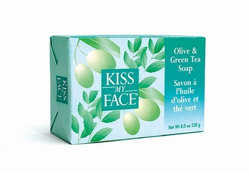 kiss-my-face-olive-green-tea-bar-soap-8-ounce-bars-pack-of-8-by-kiss-my-face