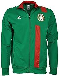 2015-2016 Mexico Adidas Track Jacket (Green)