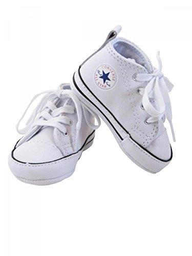 Converse, Mädchen Babyschuhe - Krabbelschuhe & Puschen, Weiß - weiß - Größe: 17 UK