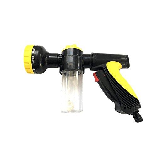 10 Funktionen Foam Gun Schaumkanone Schaum Pistole Garten Auto Waschen Wasserpistole Haushalts Hochdruck Steuerbare Schaum Sprühpistole mit Rotary Düse