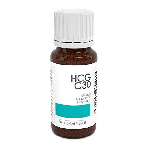 Hormonfreie HCG Globuli für Stoffwechselkur von Dr. Hochfellner (Apothekenqualität) - Potenz C30