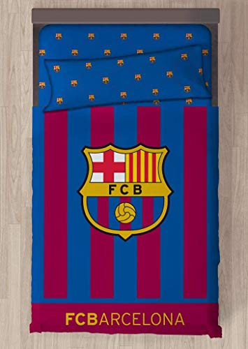 Carbotex Juego DE SÁBANAS F.C. Barcelona Escudo CENTRADO