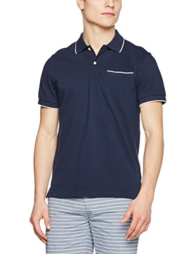 Brooks Brothers 100074549, Polo Uomo Blu (Navy)