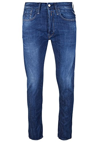 Replay - Jeans - Uni - Homme Mid Blue