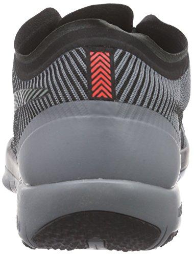 Nike Free Trainer 3.0 V4 Herren Hallenschuhe Grau (Black/Cool Grey 001)