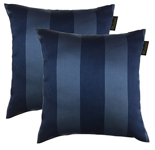 Lushomes Blackout Adorable Blue Set of 2 Cushion Covers (Size:20