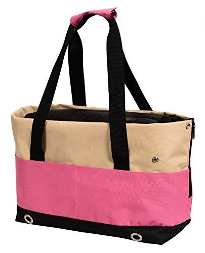 insapet Tragetasche PASSENGER Transporttasche für Katze oder Hund Katzentragetasche pink