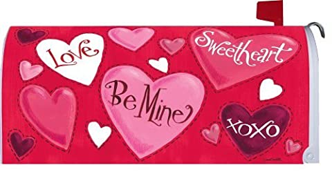 Misshow Valentine Hearts 1575MM Magnetic Mailbox Cover
