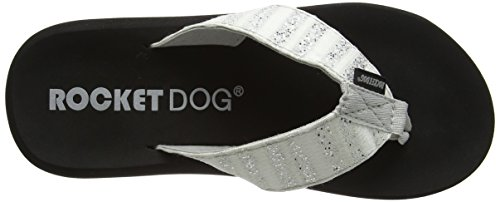Rocket sunrise Silver Dog Damen Spotlight Silber Sandalen zzrqxv