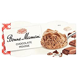 Bonne Maman Chocolate Mousse, 2 X 70g
