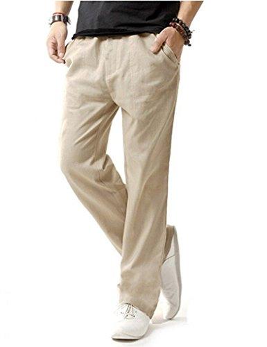 Match Herren Slim Casual Hose #8059 8059 Aprikose