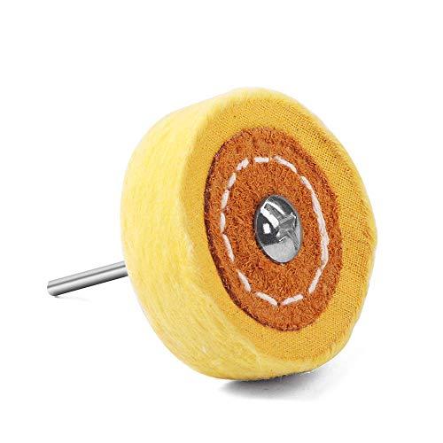 Polieren von Pufferrad Set Cotton Little Buff Wheel für Drehbohrwerkzeuge Dremel Zubehör Uhren Schmuck Polnische Puffer Kit Mandrel -