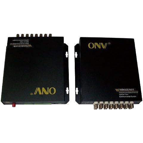 Ottica Extender in fibra ottica transceiver 16 ch trasmettitore e