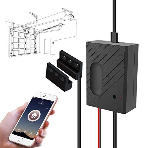 TEEKAR Smart Garagentoröffner WLAN Garagentor Controller Wi-Fi Garage Door Schalter Kompatibel mit Google Home/Alexa/Siri/IFTTT,Timer und APP-Steuerung