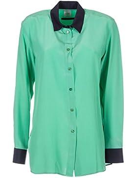 Paul Smith Camicia Donna PSXS004B041J Seta Verde