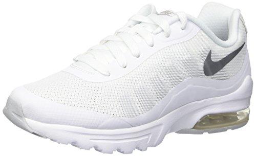 Nike Wmns Air Max Invigor, Entraînement de course femme Blanc Cassé - Blanco (White / Metallic Silver)