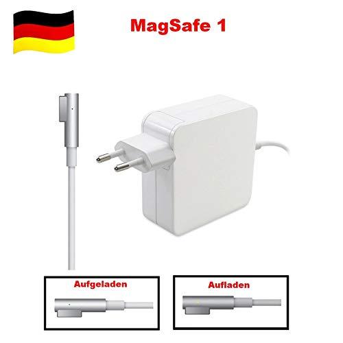 G-Technology 85W Typ-L Power Adapter Ladegerät Ersatz Netzteil mit MagSafe 1 Stecker Typ L passend für Apple MacBook 13