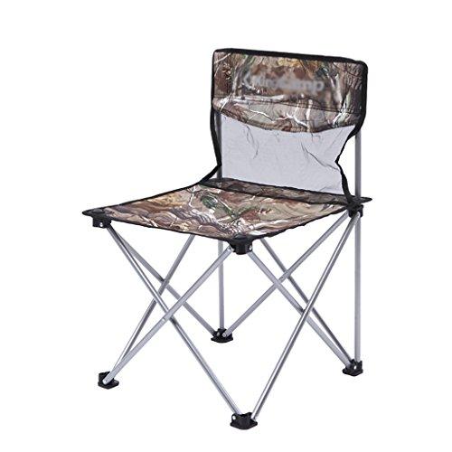 Y HWZDY Camping klappstuhl Camping Stuhl/Outdoor Klappstuhl, Angeln Freizeit Stuhl, Atmungsaktive Feste Portable Beach Chair, (Farbe : 4)