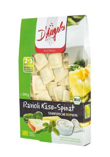 D`Angelo Ravioli Käse Spinat, 5er Pack (5 x 250 g) - Bio