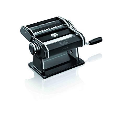 Küchenprofi Nudelmaschine Atlas 150 schwarz, Edelstahl, 20.3 x 14 x 20.3 cm