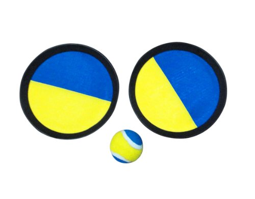 Solex Magic Catch Ball Set, gelb/blau, 21 x 21 x 6 cm, 44334
