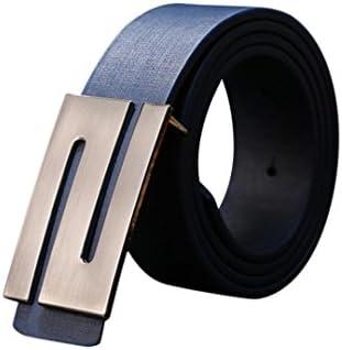 Cinturones,LANDFOX Hombres automática hebilla de cuero cinturón cintura correas