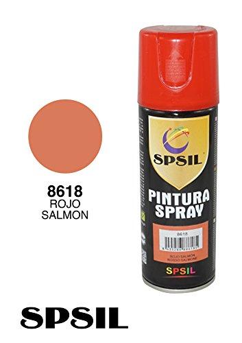 SPRAY PINTURA COLOR ROJO SALMON 200 ML. 8618