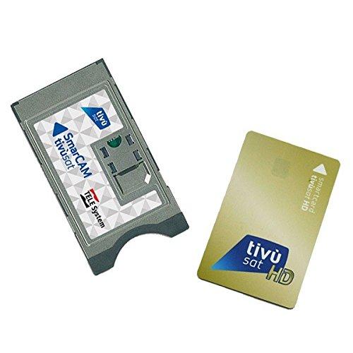 Tivu Sat Smartcard HD GOLD + Ci CAM Modul von Telesystem