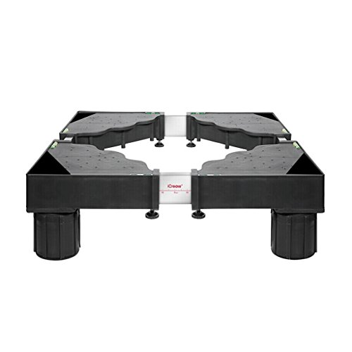 RY Furniture mover RKY Waschmaschine Base Moving Bracket, Kühlschrank Universal Halterung, Stativ Moving Universal Wheel, 43-72cm * 43-72cm * 15cm Möbel Dolly Rad / - /