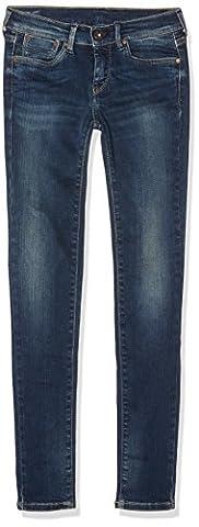 Pepe Jeans - Pixlette - Jeans Fille - Bleu (Denim T48) FR : 16 ans
