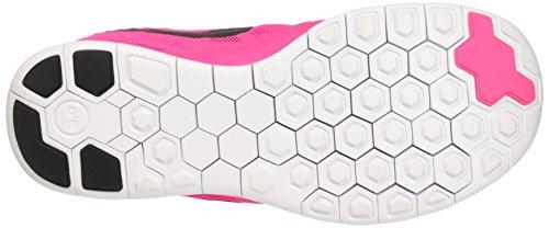 Nike Free 5.0 (GS) Mädchen Sneakers Pink (Pink Pow/Black-Vivid Pink-White)