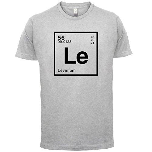 Levin Periodensystem - Herren T-Shirt - 13 Farben Hellgrau