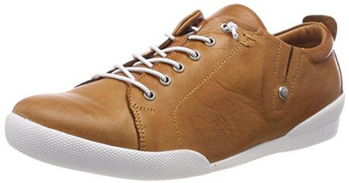 Andrea Conti Damen 0345724 Sneaker, Braun (Cognac), 39 EU