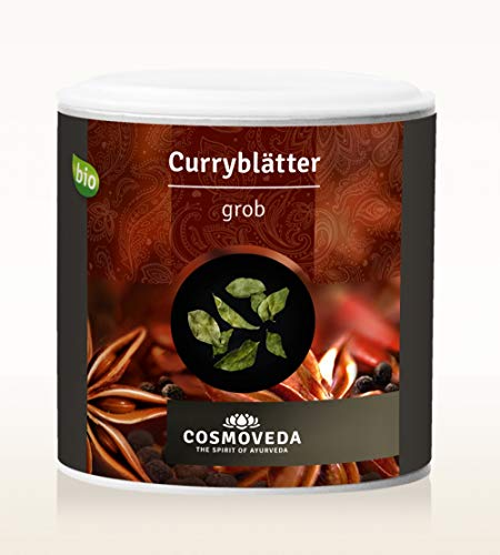 Cosmoveda BIO Curryblätter, grob 12g
