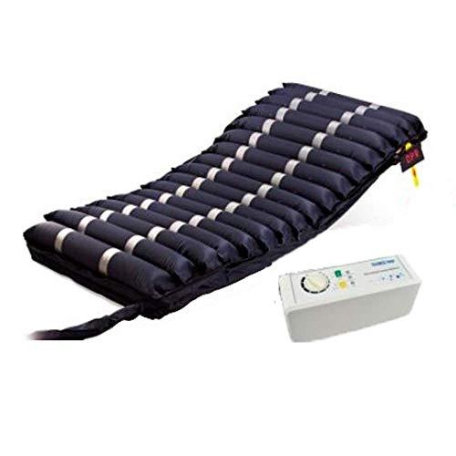 Colchón antiescaras de aire | Con compresor | TPU Nylon | 200 x 90 x 12.8 | 17 celdas | Azul | Mobi 3 | Mobiclinic