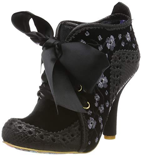 IRRA4|#Irregular Choice Teenage Abigail, Zapatos de tacón con Punta Cerrada para Mujer, Black C, 3.5 EU