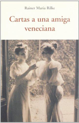 CARTAS A UNA AMIGA VENECIANA Cover Image