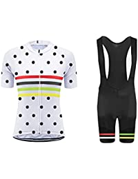 Uglyfrog #N02 Bike Wear Ciclismo Mujers Maillots Sports+Bib Tight Sets Seco y transpirable de Bicicleta Conjunto de Ropa de Ciclo Jersey de manga corta