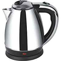 Nova N 166 1.7 Ltr Stainless Steel Oval Electric Kettle - Black and Silver