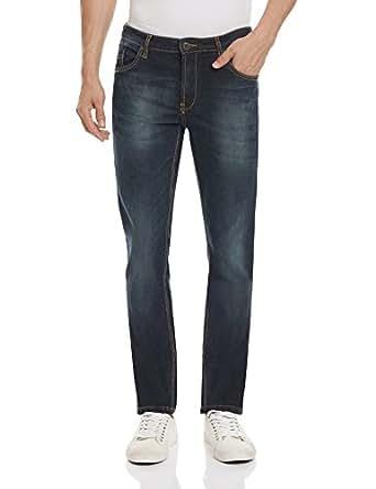 Indigo Nation Men's Slim Fit Jeans (8907372383842_13T01611_38W x 32L_Blue)
