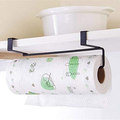 Kitchen Roll Paper Towel Holder Storage Rack Sundries Organizer Home Storage Tools Cabinet Cupboard Tissue Shelf -