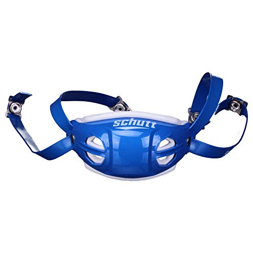 Schutt Elite Hard Cup Chinstrap - royal