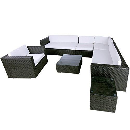 Havanna Lounge (Polyrattan Lounge Havanna (schwarz))